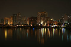 Baia di Manila immagine stock libera da diritti