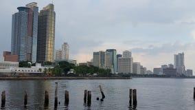 Baia di Manila Immagine Stock