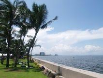 Baia di Manila dell'hotel di Sofitel Fotografie Stock Libere da Diritti