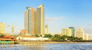 Baia di Manila della metropolitana Fotografia Stock