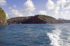 Baia di Marigot Fotografia Stock Libera da Diritti
