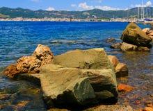 Baia di Marmaris. La Turchia Fotografia Stock