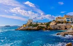 Baia di Marsiglia Maldorme immagine stock