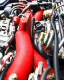 Baia di motore dell'automobile Immagine Stock Libera da Diritti