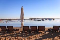 Baia di Naama in Sharm El Sheikh Fotografia Stock