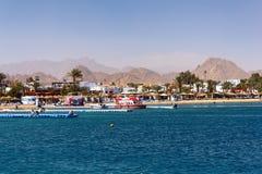 Baia di Naama in Sharm El Sheikh Immagini Stock Libere da Diritti