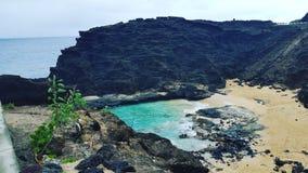 Baia di Oahu Fotografia Stock