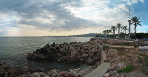 Baia di Palma de Majorca fotografie stock