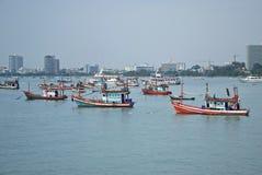 Baia di Pattaya Immagine Stock Libera da Diritti