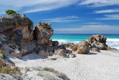 Baia di Pennington sull'isola del canguro fotografia stock libera da diritti