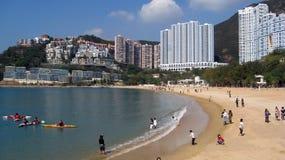 Baia di rifiuto a Hong Kong Fotografie Stock