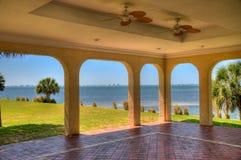 Baia di Sarasota dal palazzo di Crosley Fotografie Stock Libere da Diritti