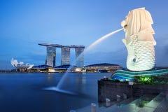 Baia di Singapore fotografie stock