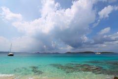Baia di Solomon - Stati Uniti Isole Vergini Fotografia Stock Libera da Diritti
