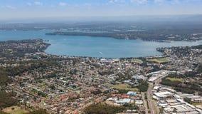 Baia di Warners - Newcastle Australia Immagini Stock