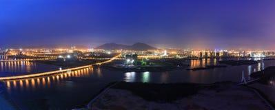 Baia di Xiamen Xinglin, Cina Immagini Stock Libere da Diritti
