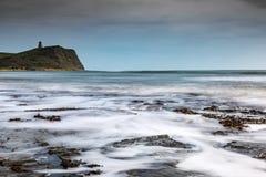 Baia Dorset, Regno Unito di Kimmeridge fotografia stock libera da diritti