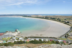 Baia e costa dell'allerta di Stanely Tasmania Fotografie Stock