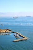 Baia a ferro di cavallo, San Francisco, S.U.A. Fotografie Stock