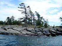 Baia georgiana, Ontario, Canada Fotografia Stock