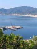 Baia in Grecia Immagini Stock Libere da Diritti