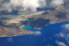 Baia Hawai di Hanauma Immagine Stock