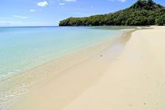 Baia isolata della spiaggia Fotografia Stock Libera da Diritti