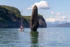 Baia Kamchatka di Avacha immagini stock