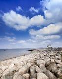 Baia Lancashire di Morecambe immagini stock