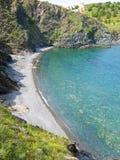 Baia in litorale Vermilion Immagini Stock Libere da Diritti