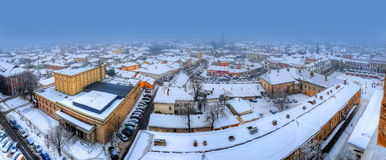 Baia Mare panorama Stock Images