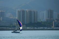 Baia Marina Club di scoperta Fotografie Stock Libere da Diritti