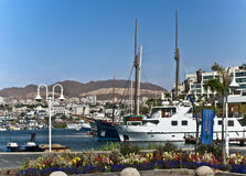 Baia marina di Eilat Fotografia Stock