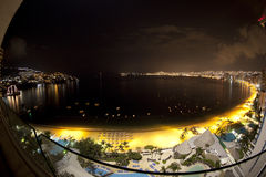 Baia Messico di Acapulco Fotografia Stock Libera da Diritti