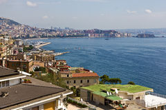 Baia Napoli Immagini Stock