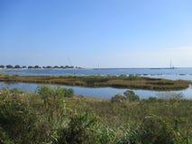 Baia nascosta a Pensacola fotografie stock