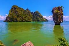 Baia nel mare delle Andamane Immagini Stock