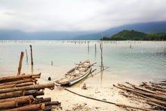 Baia nel Vietnam centrale Fotografia Stock
