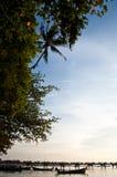 Baia Phuket Tailandia 2010 del @Chalong del sole Immagine Stock Libera da Diritti