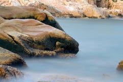 Baia rocciosa Fotografie Stock Libere da Diritti