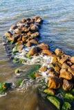 Baia rocciosa fotografia stock