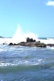 Baia San Juan Del Sur Nicaragua dell'acqua della spiaggia dell'oceano Fotografia Stock Libera da Diritti