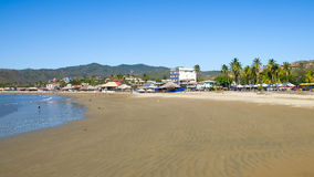 Baia San Juan Del Sur Nicaragua dell'acqua della spiaggia dell'oceano Fotografie Stock