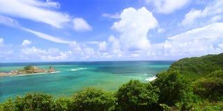 Baia Santa Lucia di Dennery Fotografia Stock Libera da Diritti
