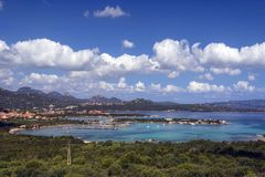 Baia Sardinia on the Island of Sardinia, Italy Stock Photos