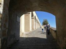 Baia - stigning av slotten royaltyfri bild