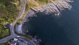 Baia Swansea di Limeslade Immagine Stock Libera da Diritti