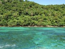 Baia tropicale della Tailandia Fotografia Stock Libera da Diritti