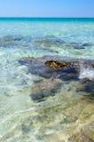 Baia Verde Beach near Gallipoli Stock Photography