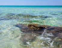 Baia Verde Beach near Gallipoli Royalty Free Stock Photography